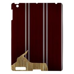 Background Texture Distress Apple iPad 3/4 Hardshell Case