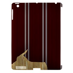 Background Texture Distress Apple iPad 3/4 Hardshell Case (Compatible with Smart Cover)