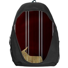 Background Texture Distress Backpack Bag