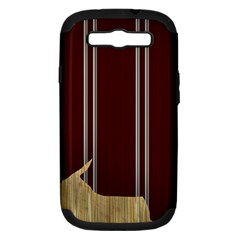 Background Texture Distress Samsung Galaxy S III Hardshell Case (PC+Silicone)
