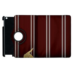 Background Texture Distress Apple iPad 3/4 Flip 360 Case