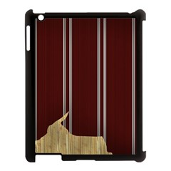 Background Texture Distress Apple iPad 3/4 Case (Black)