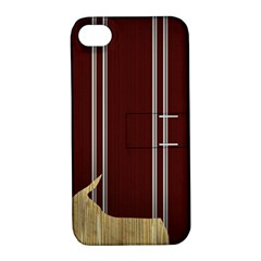 Background Texture Distress Apple iPhone 4/4S Hardshell Case with Stand