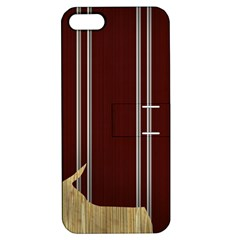 Background Texture Distress Apple iPhone 5 Hardshell Case with Stand