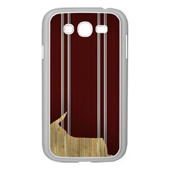 Background Texture Distress Samsung Galaxy Grand DUOS I9082 Case (White)