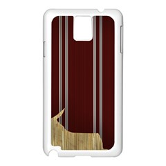 Background Texture Distress Samsung Galaxy Note 3 N9005 Case (White)