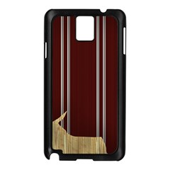 Background Texture Distress Samsung Galaxy Note 3 N9005 Case (Black)