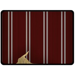 Background Texture Distress Double Sided Fleece Blanket (Large)
