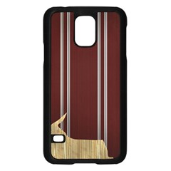 Background Texture Distress Samsung Galaxy S5 Case (Black)