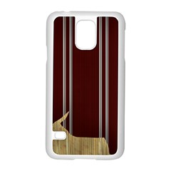 Background Texture Distress Samsung Galaxy S5 Case (White)