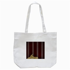 Background Texture Distress Tote Bag (White)