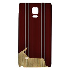 Background Texture Distress Galaxy Note 4 Back Case