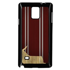 Background Texture Distress Samsung Galaxy Note 4 Case (Black)