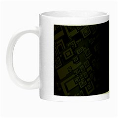 Black Rectangle Wallpaper Grey Night Luminous Mugs