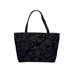 Black Rectangle Wallpaper Grey Shoulder Handbags