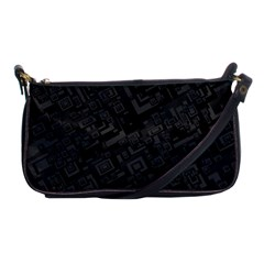 Black Rectangle Wallpaper Grey Shoulder Clutch Bags