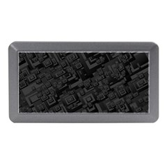 Black Rectangle Wallpaper Grey Memory Card Reader (Mini)