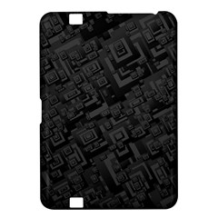 Black Rectangle Wallpaper Grey Kindle Fire HD 8.9