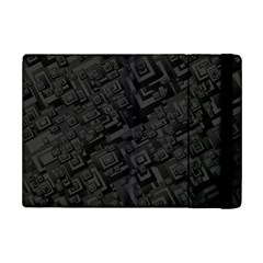 Black Rectangle Wallpaper Grey iPad Mini 2 Flip Cases