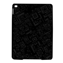 Black Rectangle Wallpaper Grey iPad Air 2 Hardshell Cases