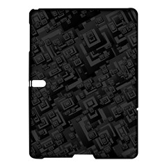 Black Rectangle Wallpaper Grey Samsung Galaxy Tab S (10.5 ) Hardshell Case
