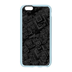 Black Rectangle Wallpaper Grey Apple Seamless iPhone 6/6S Case (Color)