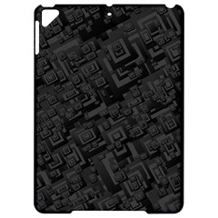Black Rectangle Wallpaper Grey Apple iPad Pro 9.7   Hardshell Case