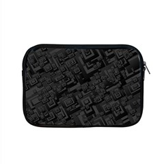 Black Rectangle Wallpaper Grey Apple MacBook Pro 15  Zipper Case