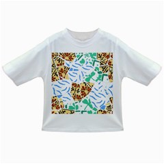 Broken Tile Texture Background Infant/Toddler T-Shirts
