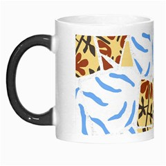 Broken Tile Texture Background Morph Mugs