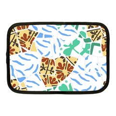 Broken Tile Texture Background Netbook Case (Medium)