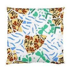 Broken Tile Texture Background Standard Cushion Case (One Side)