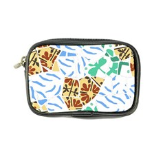 Broken Tile Texture Background Coin Purse