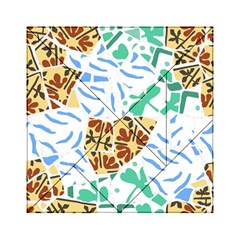 Broken Tile Texture Background Acrylic Tangram Puzzle (6  x 6 )