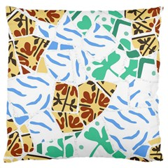 Broken Tile Texture Background Large Cushion Case (One Side)