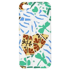 Broken Tile Texture Background Apple iPhone 5 Hardshell Case