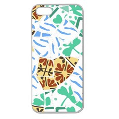 Broken Tile Texture Background Apple Seamless iPhone 5 Case (Clear)