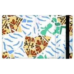Broken Tile Texture Background Apple iPad 3/4 Flip Case