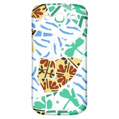 Broken Tile Texture Background Samsung Galaxy S3 S III Classic Hardshell Back Case