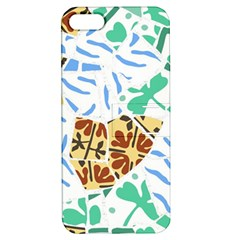 Broken Tile Texture Background Apple iPhone 5 Hardshell Case with Stand