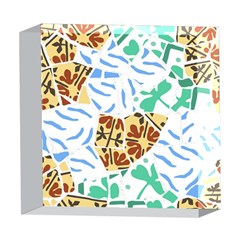 Broken Tile Texture Background 5  x 5  Acrylic Photo Blocks