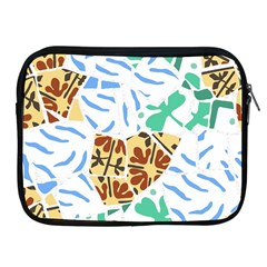 Broken Tile Texture Background Apple iPad 2/3/4 Zipper Cases
