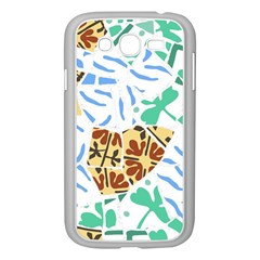 Broken Tile Texture Background Samsung Galaxy Grand DUOS I9082 Case (White)