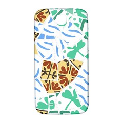 Broken Tile Texture Background Samsung Galaxy S4 I9500/I9505  Hardshell Back Case
