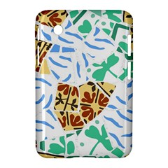 Broken Tile Texture Background Samsung Galaxy Tab 2 (7 ) P3100 Hardshell Case
