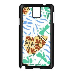 Broken Tile Texture Background Samsung Galaxy Note 3 N9005 Case (Black)