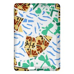 Broken Tile Texture Background Amazon Kindle Fire HD (2013) Hardshell Case