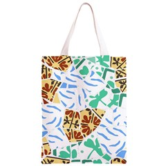 Broken Tile Texture Background Classic Light Tote Bag