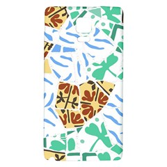 Broken Tile Texture Background Galaxy Note 4 Back Case