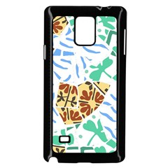 Broken Tile Texture Background Samsung Galaxy Note 4 Case (Black)